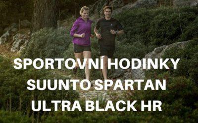 Sportovní hodinky SUUNTO Spartan Ultra Black HR