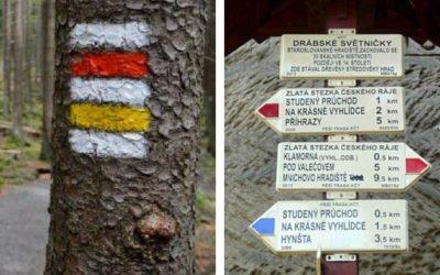 Turistické značky a cesty