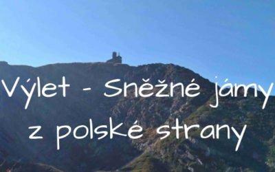 Violík, Vysoké kolo a Sněžné jámy z polské strany