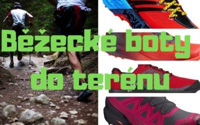 Běžecké boty do terénu