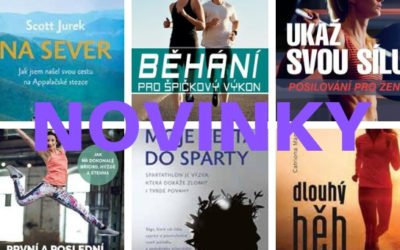 6 tipů pro jarní knižní inspiraci pro běžce a fitness nadšence