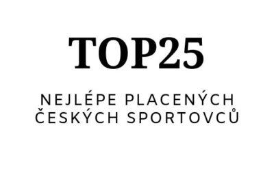 25 nejlépe placených sportovců Česka