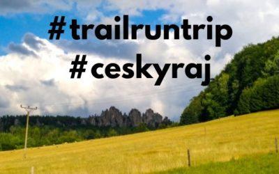 Trail run trip po Zlaté stezce Českého ráje