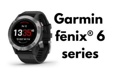 Chytré multisportovní hodinky Garmin Fenix 6 series