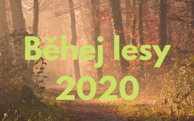 Termínová listina Běhej lesy 2020