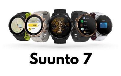 Nové sportovní hodinky Suunto 7