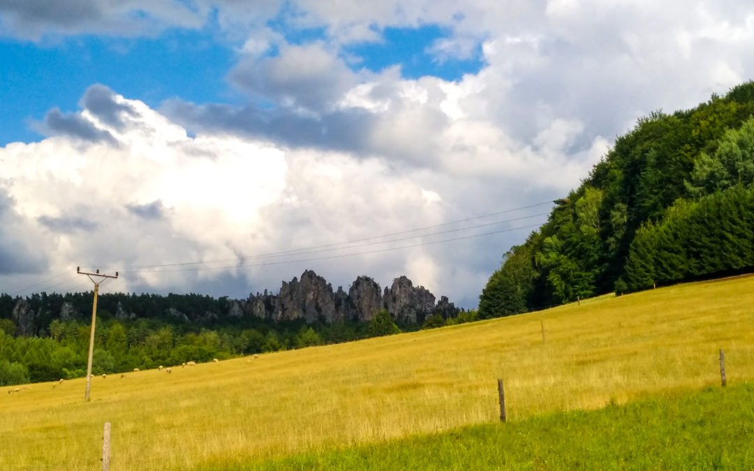 Trail okolo Besedických a Suchých skal