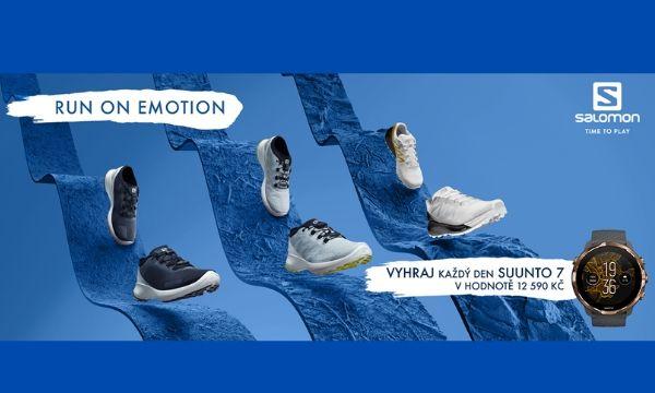 Salomon – Run on Emotion, soutěž o hodinky Suunto 7