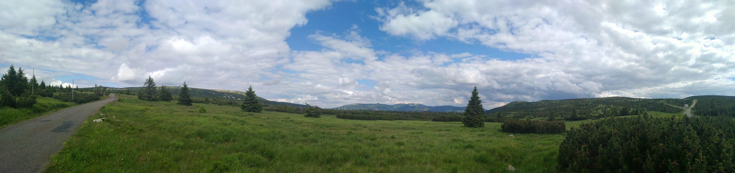 Panorama Krkonoše