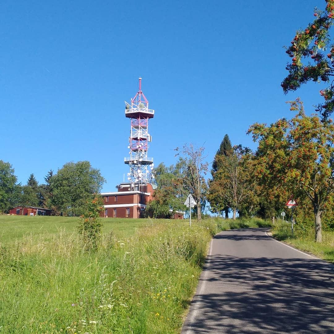 Kozákov, Riegrova chata