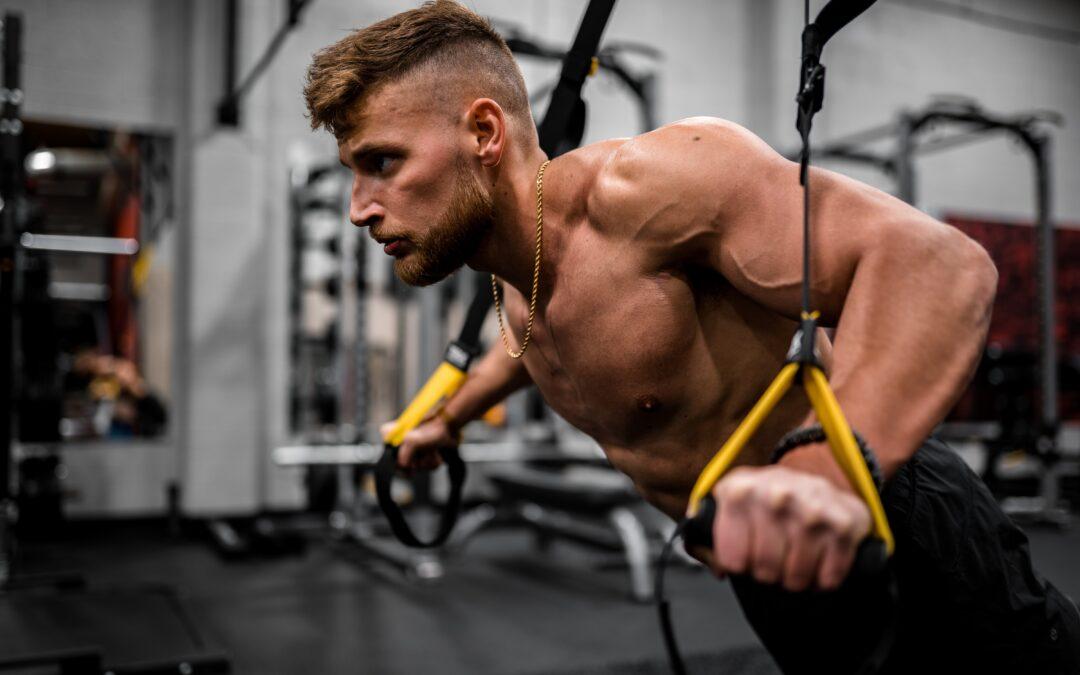 TRX závěsný systém, ideální pomocník pro cvičení