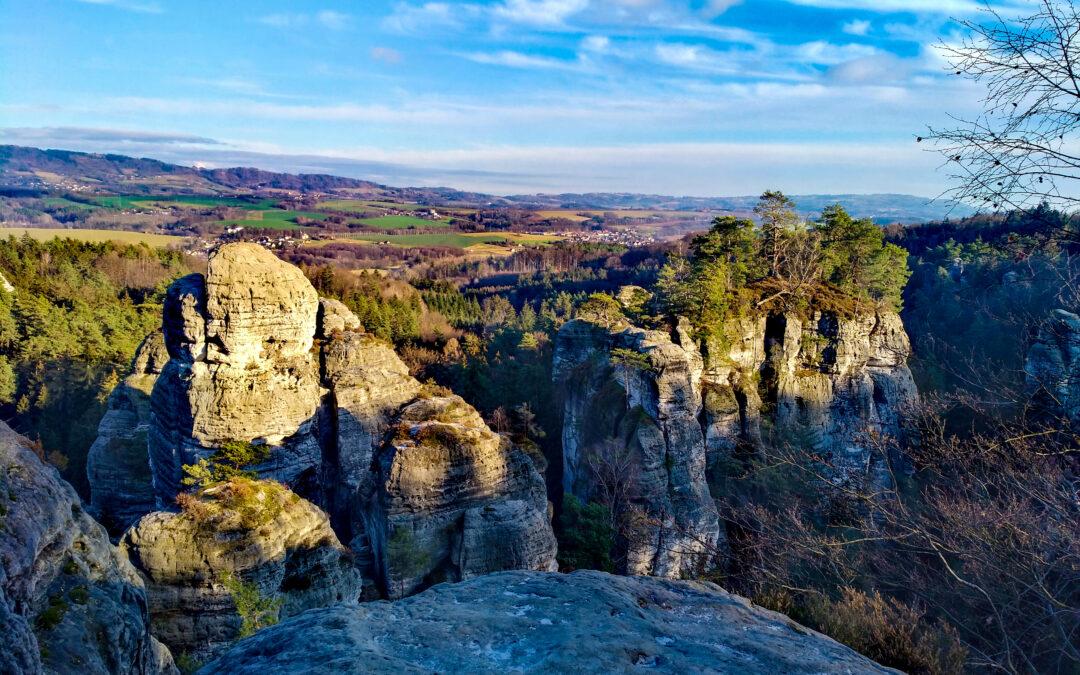 Běžecká trasa: Filmová sedmnáctka Hruboskalskem