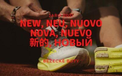 Běžecké boty: novinky zima – jaro 2021
