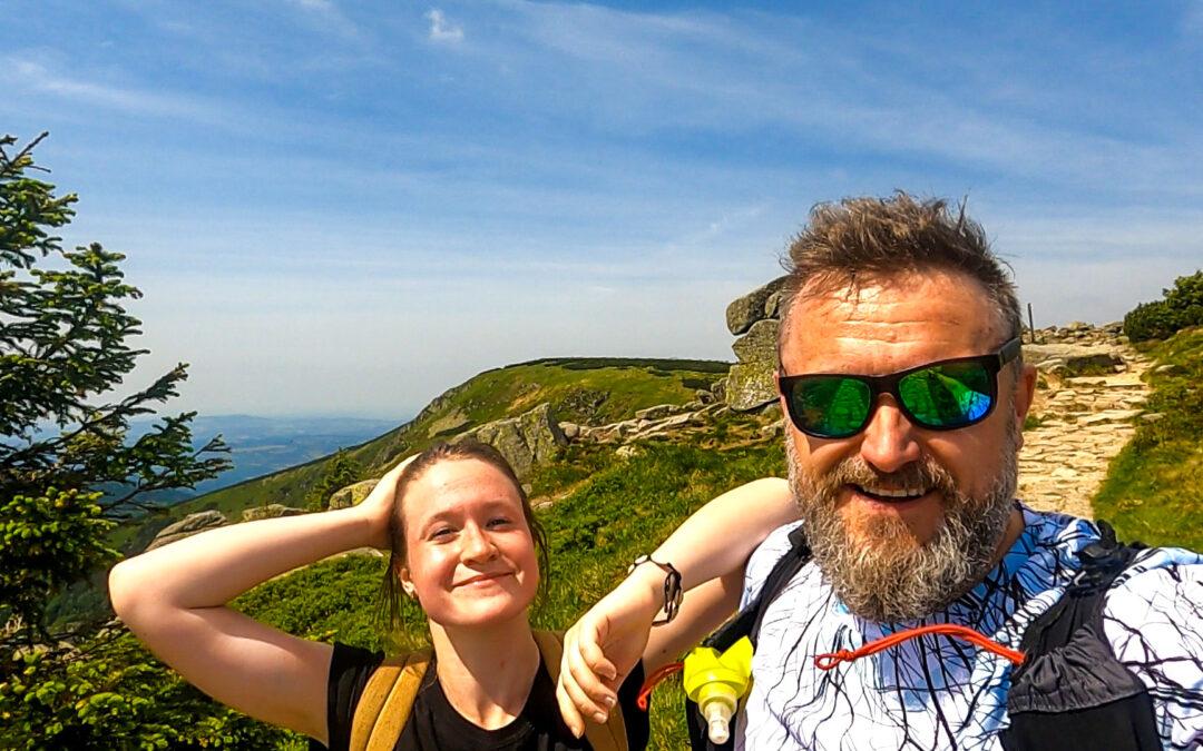 Krkonoše: Hiking z Rokytnice nahoru a dolu