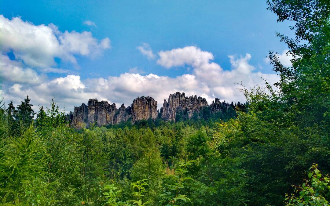 Český ráj: hiking přes Suché skály